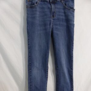 CHILDREN'S PLACE blue jeans stretch skinny 16 GUC